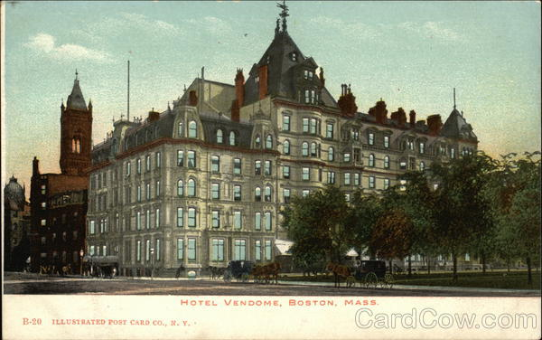 Hotel Vendome Boston Massachusetts