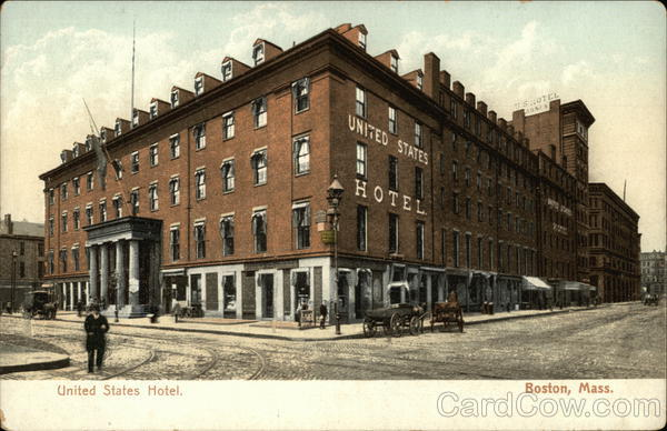 United States Hotel Boston Massachusetts