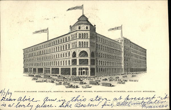 Jordan Marsh Company, Boston, Mass. Massachusetts