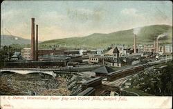 R.R. Station, International Paper Bag and Oxford Mills