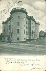 Women's Club Building Postcard