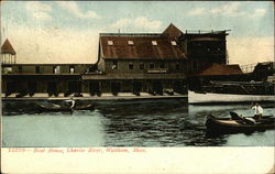Boat House, Charles River