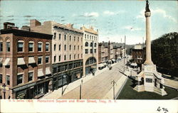 Monument Square and River Street