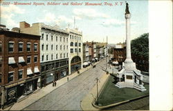 Monument Square, Soldiers' and Sailors' Monument