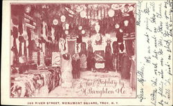 Store Display in H. Broughton & Co. of New York