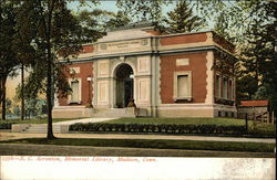 E. C. Scranton Memorial Library Postcard