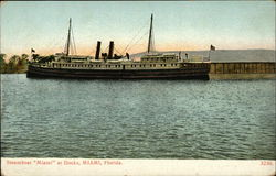 Steamboat Miami at Docks