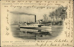 "Steamer ""City of Jacksonville"" Steamship"