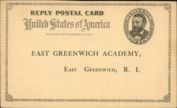 Reply Postal Card - East Greenwich Academy