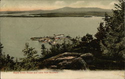 Mount Kineo House and Lake from Mountain Postcard