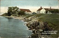Shore and Buildings, Casco Bay