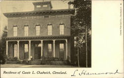 Residence of Cassie L. Chadwick