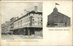 Hotel Newcomb - Fourth and Maine Streets