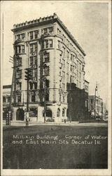 Millikin Building, Corner of Water and East Main Streets