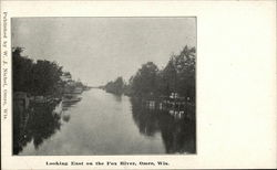 Looking East on the Fox River