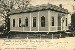Public Library, Onsite of Old Taft's Tavern