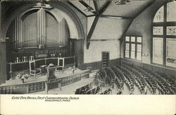 First Congregational Church - Estey Pipe Organ