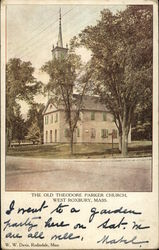 The Old Theodore Parker Church