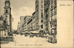 Tremont Street from Park Street