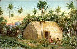 Natives at Home in Hawaii