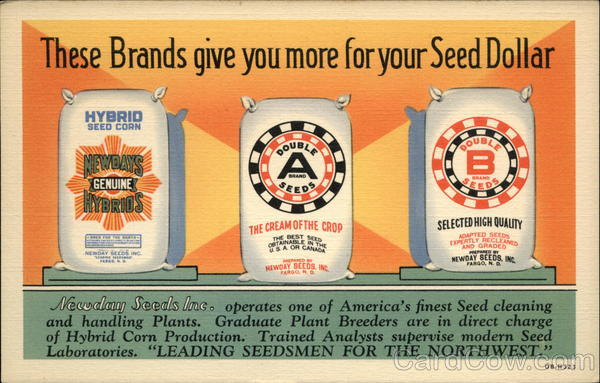 Newday Seeds Inc Advertising Farming