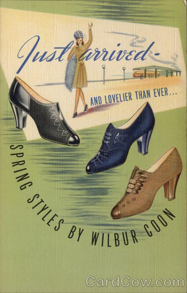 Wilbur Coon Arch Fitter Shoes Advertising
