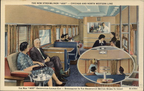 The New Streamliner 400 - Chicago and North Western Line