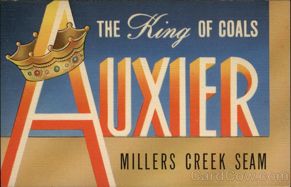 Auxier Millers Creek Seam Advertising