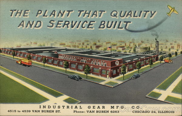 Industrial Gear Mfg. Co Chicago Illinois