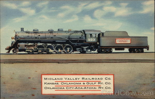 midland valley railroad co   kansas  oklahoma  u0026 gulf ry