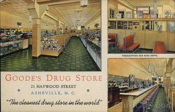 Goode's Drug Store Asheville North Carolina