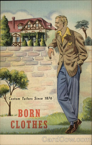 Born Clothes Advertising