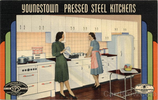Youngstown Pressed Steel Kitchens Advertising
