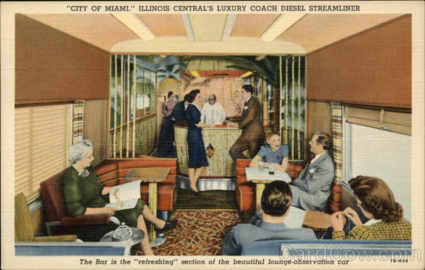 City of Miami - Bamboo Grove, The Tavern-Lounge-Observation Car