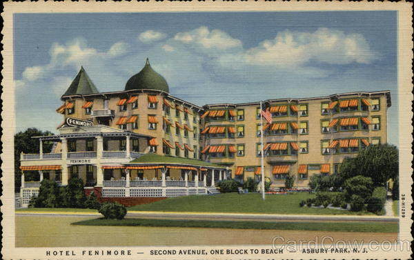 Fenimore Hotel Asbury Park New Jersey