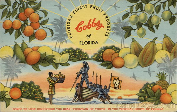 Florida's Finest Fruit Products, Cobbs of Florida Advertising