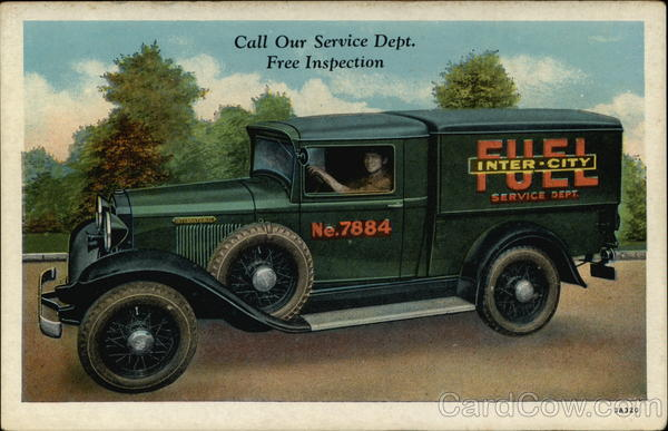 Inter-City Fuel Co., Inc Delivery Truck St. Paul Minnesota