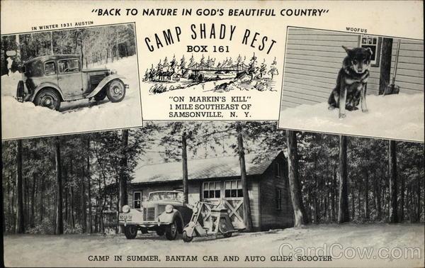 Altitude Rochester Ny >> Camp Shady Rest Samsonville, NY