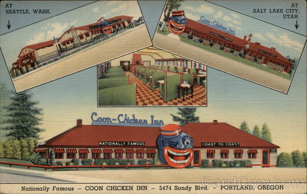 Coon Chicken Inn Portland Oregon Advertising