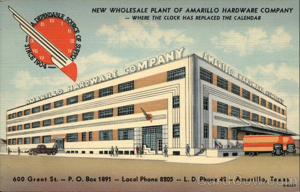 Amarillo Hardware Company - Wholesale Plant Texas
