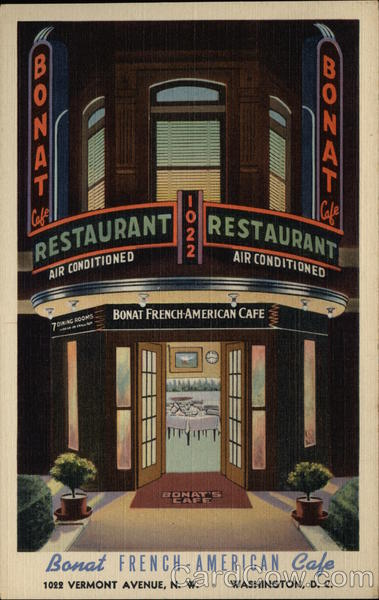 Bonat French-American Cafe Washington District of Columbia
