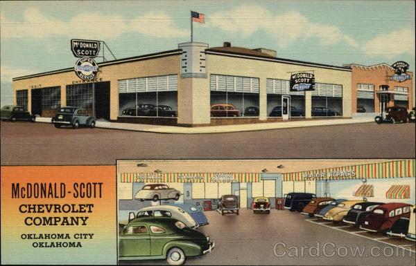 Mcdonald Scott Chevrolet Company Oklahoma City Ok