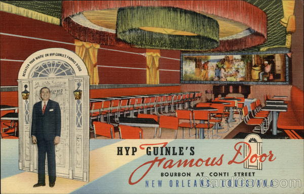 Hyp Guinle's Famous Door New Orleans Louisiana