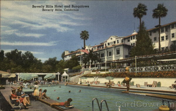 Beverly Hills Hotel and Bungalow California