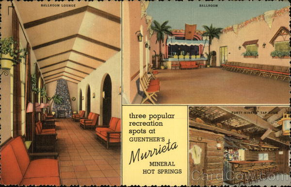 Hotels In Palm Springs >> Guenther's Murrieta Mineral Hot Springs
