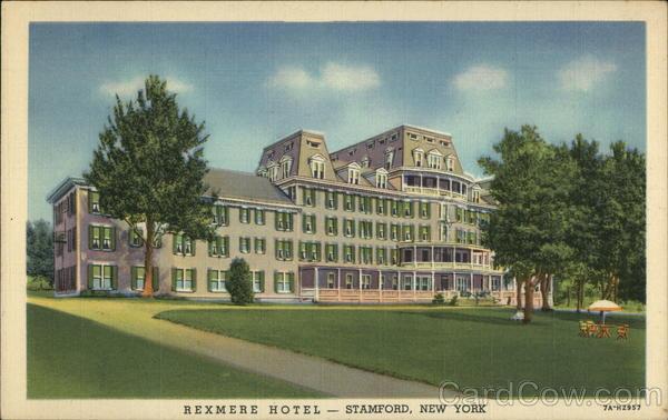Rexmere Hotel Stamford Ny