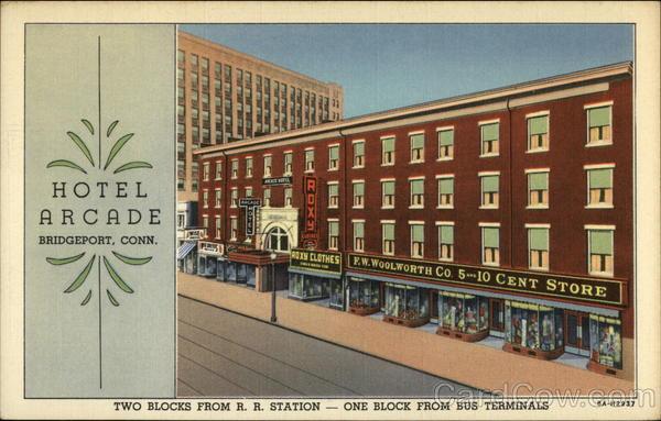 Hotel Arcade Bridgeport Ct Stratfield