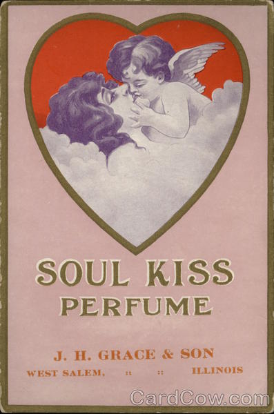 Soul Kiss Perfume, J.H. Grace & Son Advertising