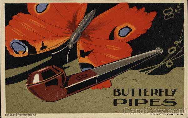 Butterfly Pipes Advertising