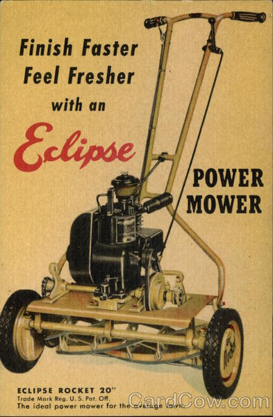 Finish Faster Feel Fresher with an Eclipse Power Mower